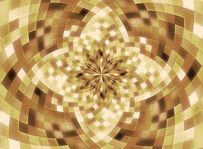 Das Heilgeheimnis_Bild Mandala beige